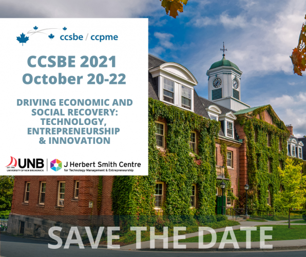 CCSBE: Call for Papers and Workshop Proposals Deadline
