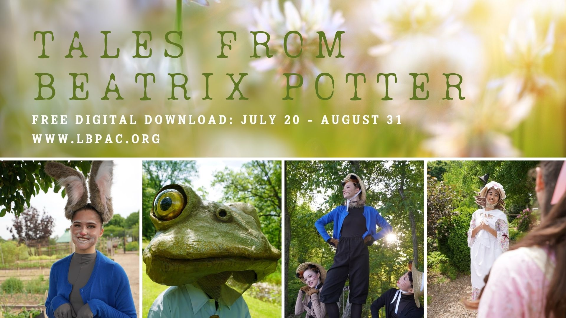 Tales From Beatrix Potter presented by Loudoun Ballet Performing Arts Company