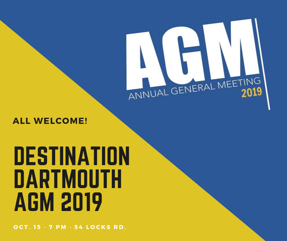 Destination Dartmouth AGM 2019