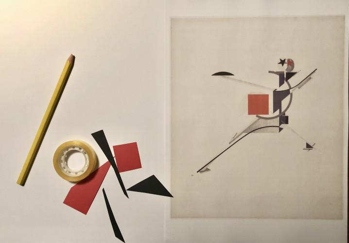 Mini-curso de desenho e colagem: Preto vermelho e talvez amarelo (à distância)