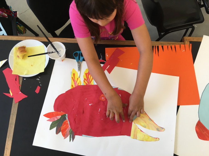 Atelier para Jovens (9 aos 15 anos )- Ilustração, Desenho e Assemblage: Caixa Viajante (à distância)