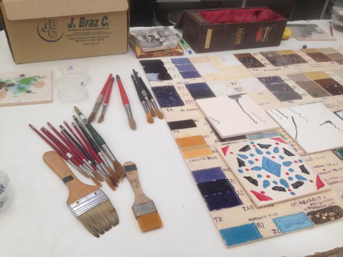 Workshop de Cerâmica: Pintura de Azulejo (presencial)