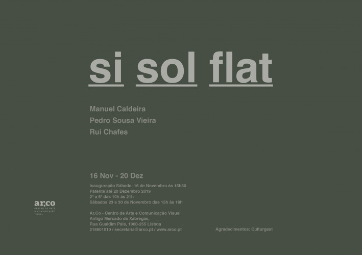 """Exposição """"Si Sol Flat"""""""