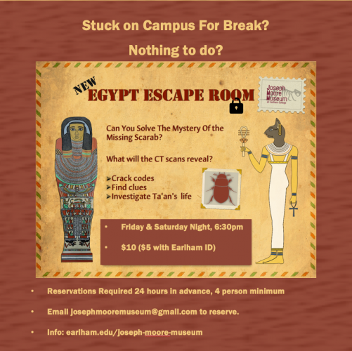 Egypt Escape Room at the Joseph Moore Museum