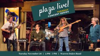 Plaza Live! Warren Dukes Band