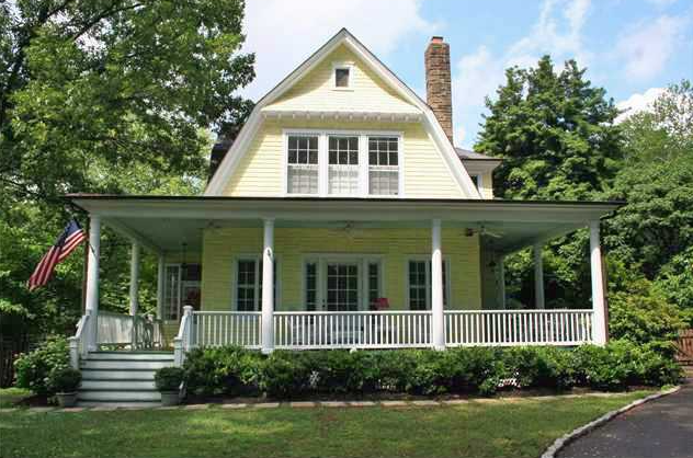 Porch Party on Historic Site